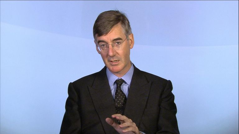 Jacob Rees-Mogg still