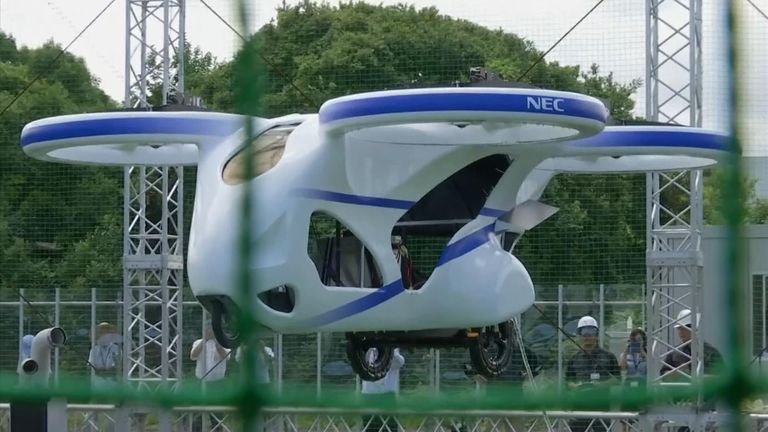There are still safety concerns to overcome before flying cars can become commonplace