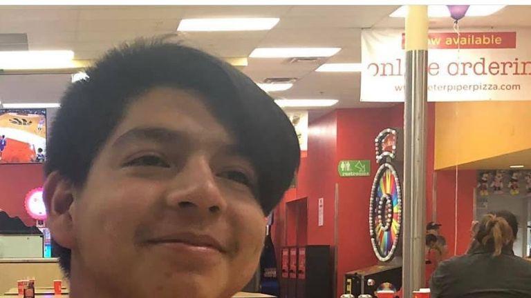 Javier Rodriguez was 15 years old