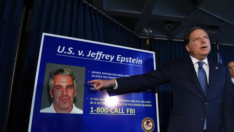 A New York Southern District US attorney announces charges against Jeffery Epstein in July