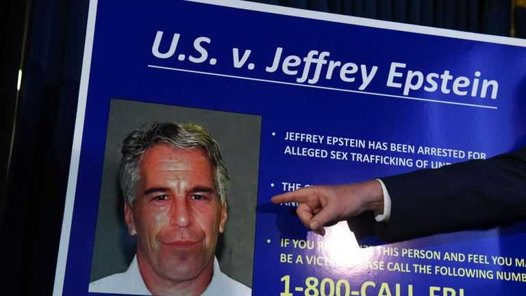 US Attorney Geoffrey Berman announces charges against Jeffery Epstein in July