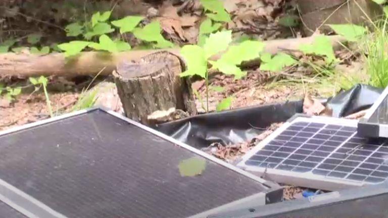 Solar panels. Pic: WSAW