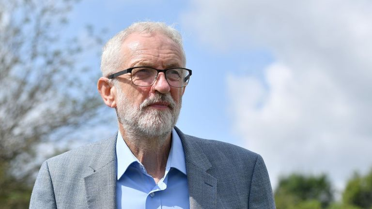 Labour leader Jeremy Corbyn has said he wants to stop a no-deal Brexit