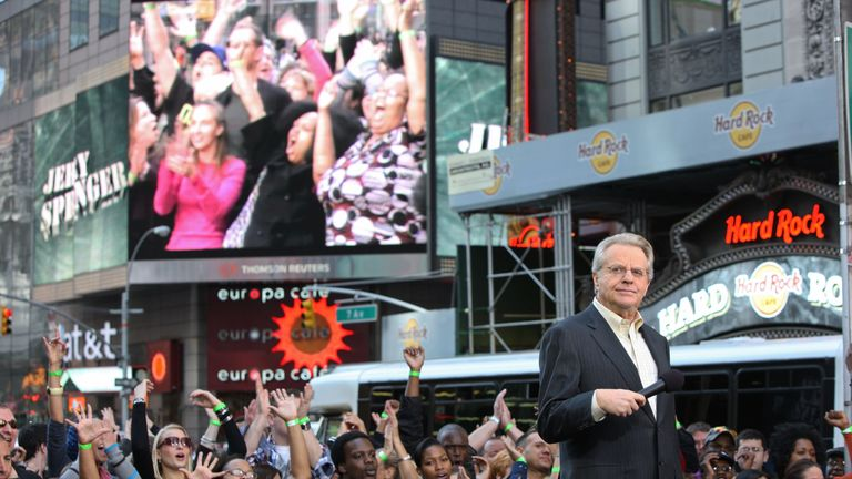 Jerry Springer: My show was stupid, but criticism about it is unfair