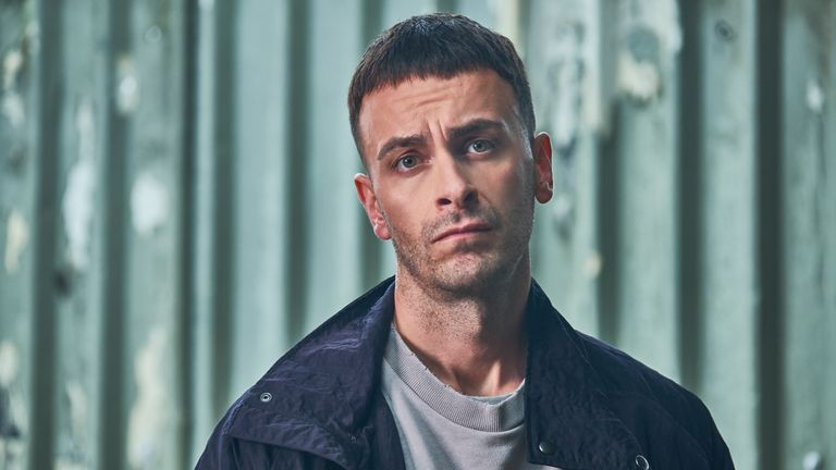 Joe Gilgun stars in new Sky One comedy Brassic. Pic: © Sky UK Ltd