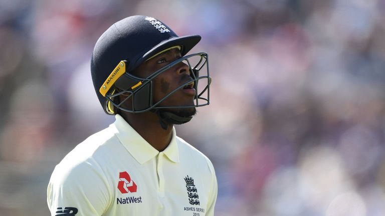 Jofra Archer, England's star man on Thursday, was out for seven