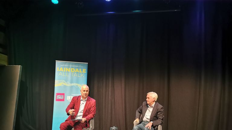 John McDonnell was speaking at the Edinburgh Fringe Festival