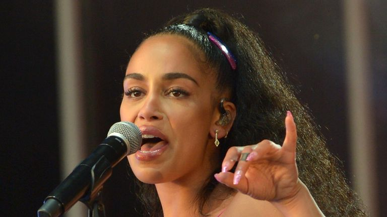 Brit winner Jorja Smith had been booked to play
