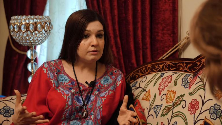 Mushaal Hussein Mullick said she is speaking for those 'who have no voice'