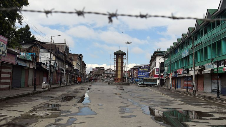 Tensions are high in Kashmir, with many fearful of protests and violence