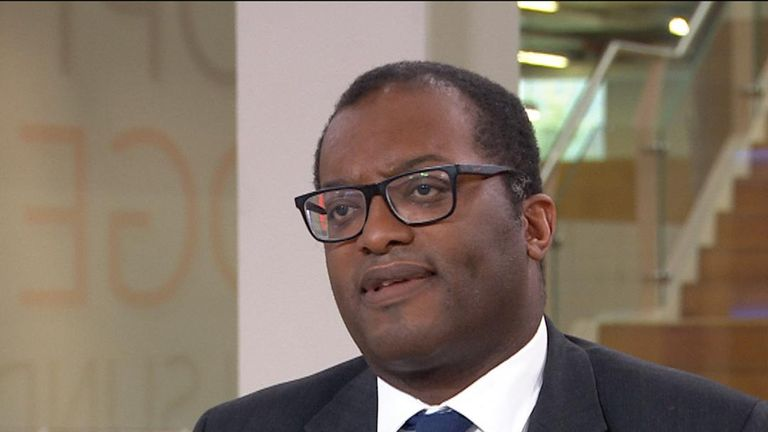 Kwasi Kwarteng says the government is focused on delivering Brexit at the end of October