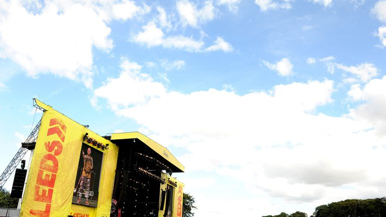 The 17-year-old girl died at Leeds festival in the early hours of the morning