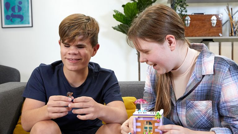 Lego teamed up with AI specialists to translate the instructions. Pic: Lego
