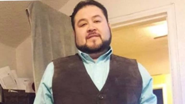 Leo Campos' death was confirmed by a teachers' organisation