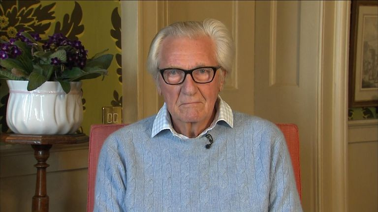 """Lord Heseltine tells Sky News that there is """"no parliamentary majority for what this government is preparing to do""""."""