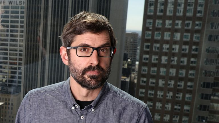 "Louis Theroux, writer and star of documentary ""My Scientology Movie,"" poses for a portrait in Los Angeles, California, U.S., March 7, 2017"