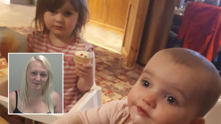 Lexi and Scarlett died less than three weeks apart - they were killed by mother Louise Porton