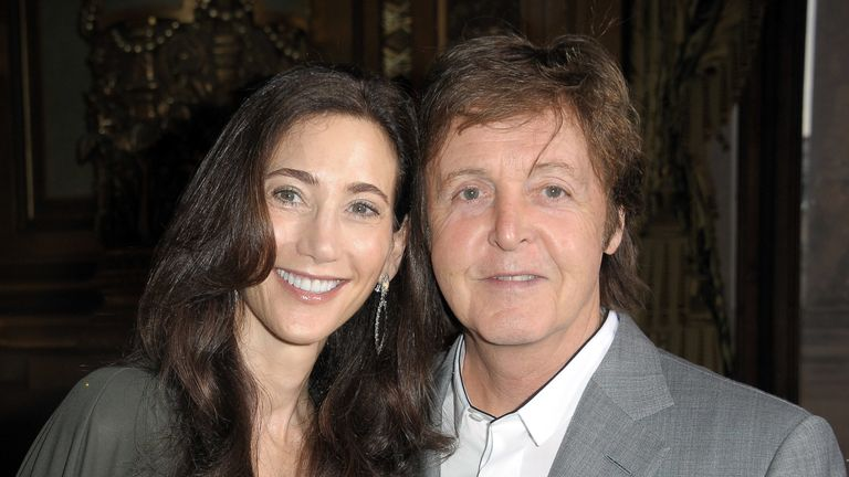 Sir Paul married Nancy Shevell in 2011
