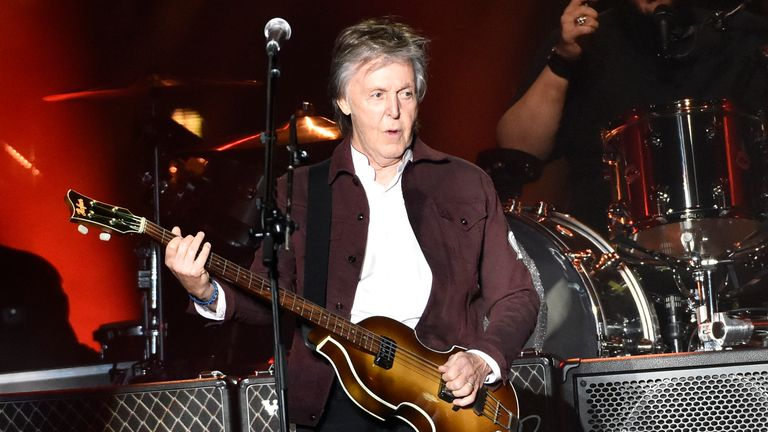 Sir Paul says his grandson was mugged at knifepoint in London