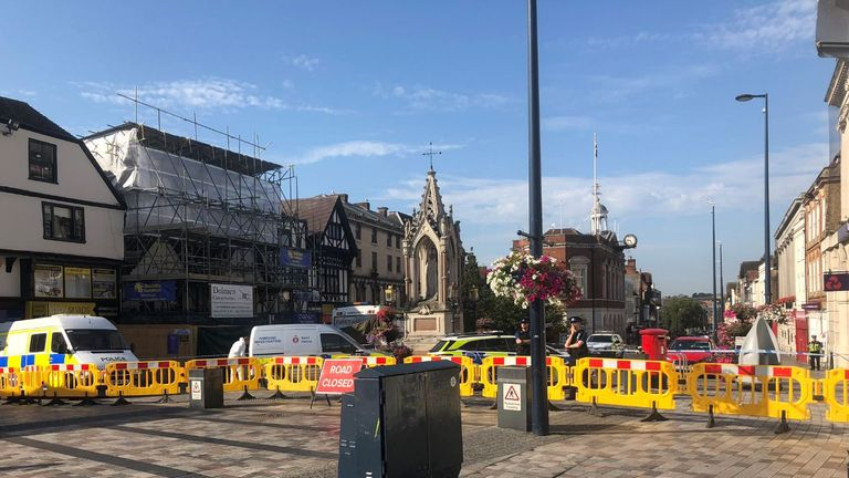 Maidstone high street remains shut