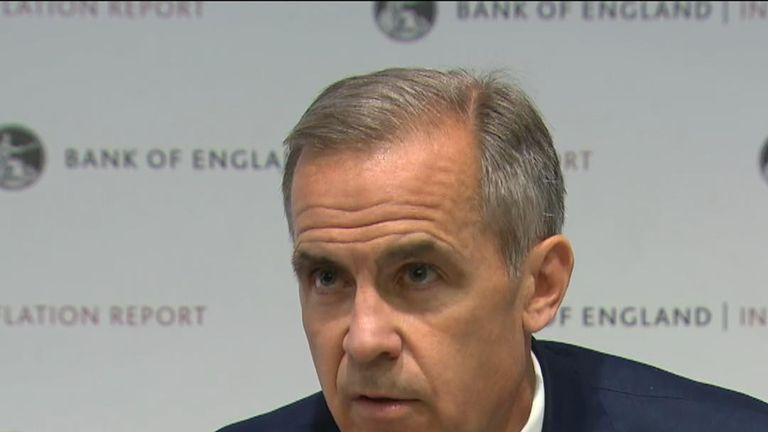 Mark Carney considers the consequences of a no-deal Brexit