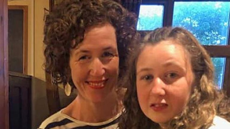 Meabh Quoirin with her daughter Nora who has gone missing while on holiday in Malaysia