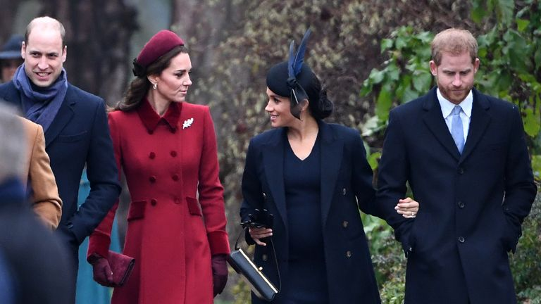 The Duke and Duchess of Sussex had been partners in the foundation