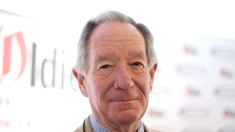 Veteran broadcaster Michael Buerk