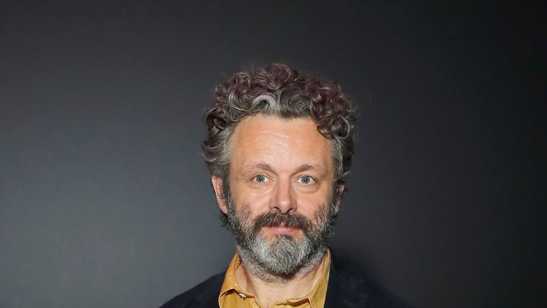 Michael Sheen attends The Great Hack special screening and reception, hosted by Riz Ahmed, at Science Museum on July 16, 2019 in London, England