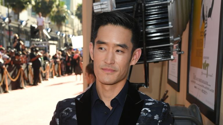 The martial artist is portrayed in the film by actor Mike Moh