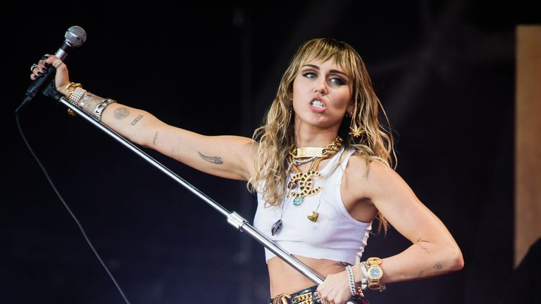 Miley Cyrus at Glastonbury