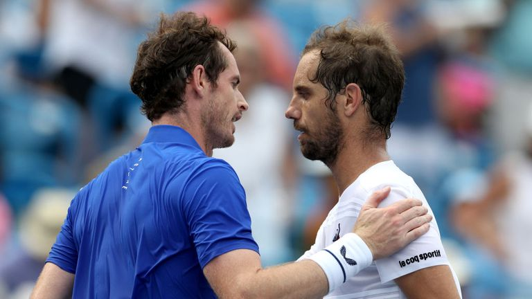 Andy Murray lost in straight sets  Richard Gasquet of France in Cincinnati