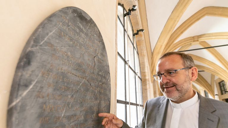 The gravestone of the 'real' Snow White has been found. Pic: Bamberg Diocesan Museum