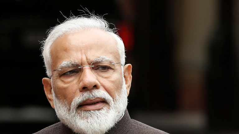 Modi says Kashmir could experience a spike in tourism after stripping the region of its special status