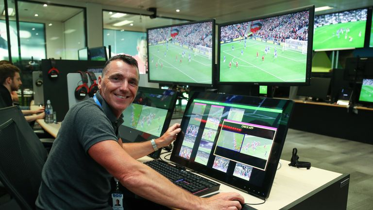 Neil Swarbrick says football fans should 'just live' with VAR