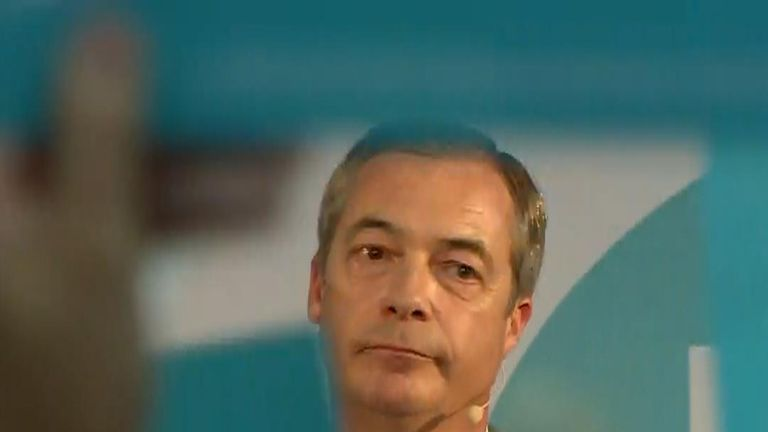 Nigel Farage vows to field candidates up and down the country in a general election unless there is a clean break with Europe