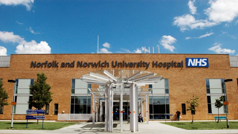 Norfolk and Norwich University Hospitals NHS Foundation Trust will receive £69.7million