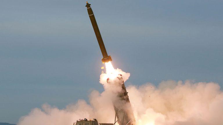 Rocket launcher test