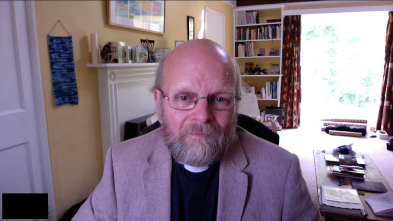 The Rev Andrew Bryant says churches should be places of laughter too