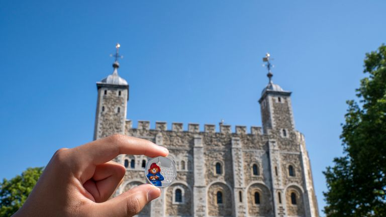 Paddington Bear to visit London landmarks on new 50p coins