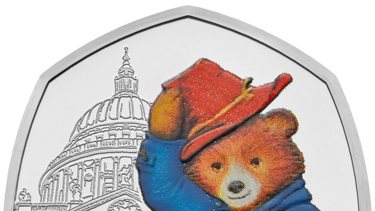 The coins are available to buy from the Royal Mint's website and will be in circulation across the UK in the next few weeks