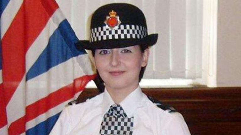 PC Nicola Hughes died aged 23
