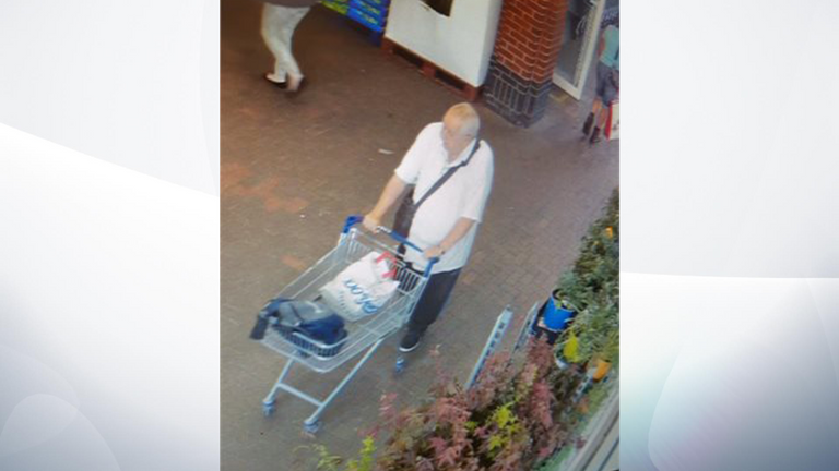 The public are warned not to approach Atkins. Pic: Cambridgeshire Police