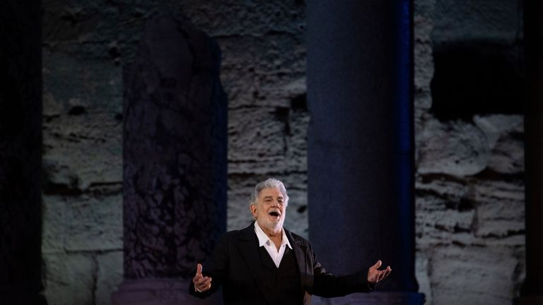 Placido Domingo said he believed all his relationships 'were always welcomed and consensual'