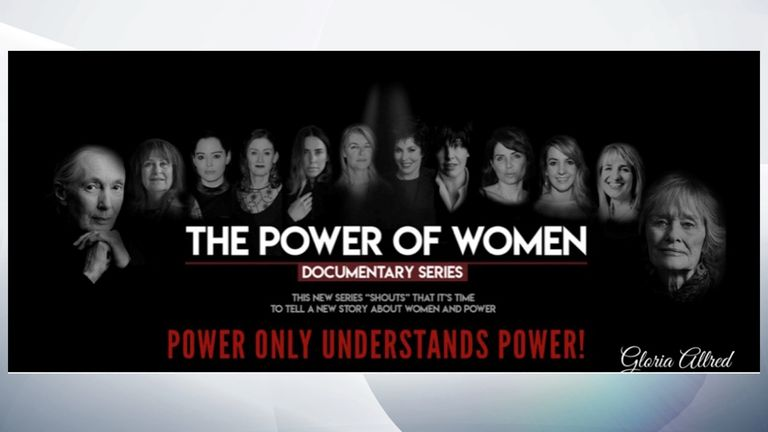 The Power Of Women airs on Sky Arts at 10pm on Monday 26 August
