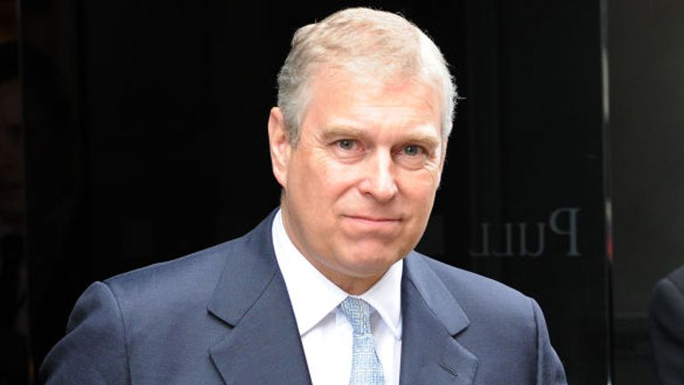 Prince Andrew 'appalled' over ex-friend Jeffrey Epstein sex scandal claims