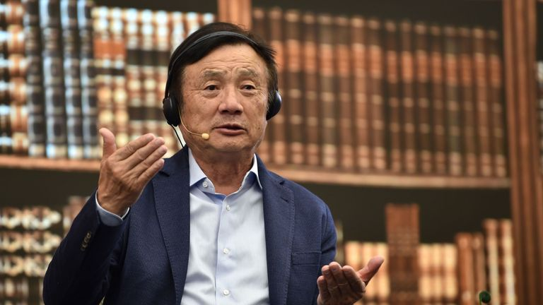 Huawei founder and chief executive Ren Zhengfei