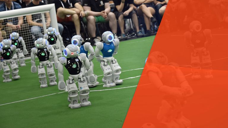 Robots can play football, so could they ref it?
