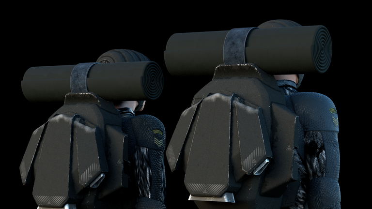Magnetic backpacks could be part of future loadouts