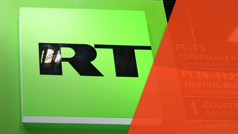 Ofcom fined Russian state broadcaster RT £200,000 for breaches of due impartiality